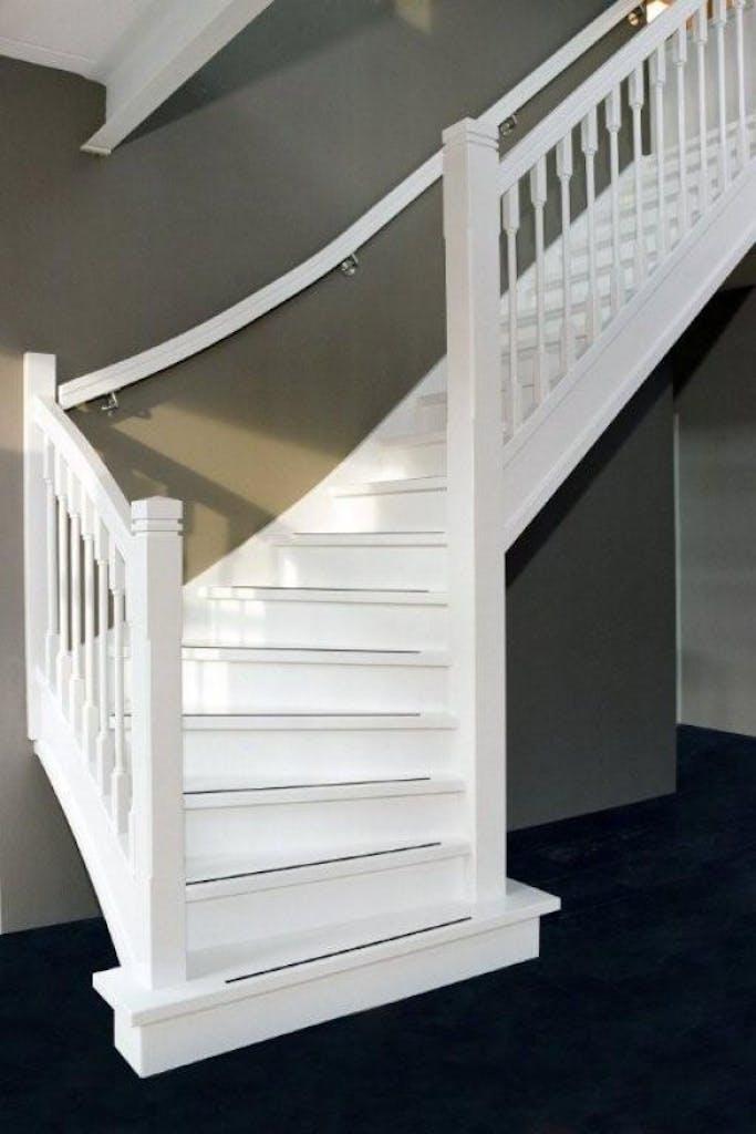 schilderen van een trap